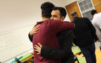 Muslim men buddy up to face depression and anxiety